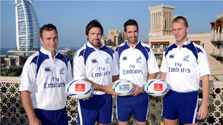 The deal with Emirates includes rights to match official shirts for the next two Rugby World Cups ©Rugby World Cup 2015