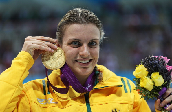 The 400m freestyle was won of eight golden events for Jacqueline Freney at London 2012 ©Getty Images
