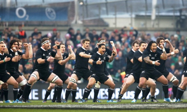 Fans of reigning world champions New Zealand will be among some of those with the furthest distances to travel when England hosts the Rugby World Cup 2015 ©Getty Images