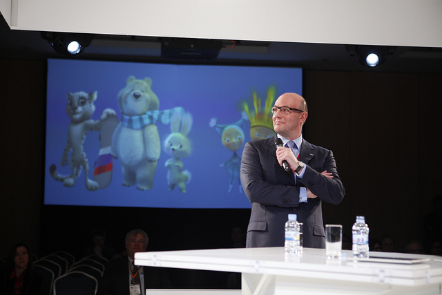 "Sochi 2014 have ""clarified"" comments made by President and chief executive Dmitry Chernyshenko about athletes being able to protest during press conferences at the Winter Olympics ©Sochi 2014"