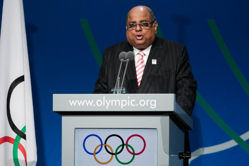 World Squash Federation chief Narayana Ramachandran is set to be elected unopposed as the new President of the Indian Olympic Association ©AFP/Getty Images