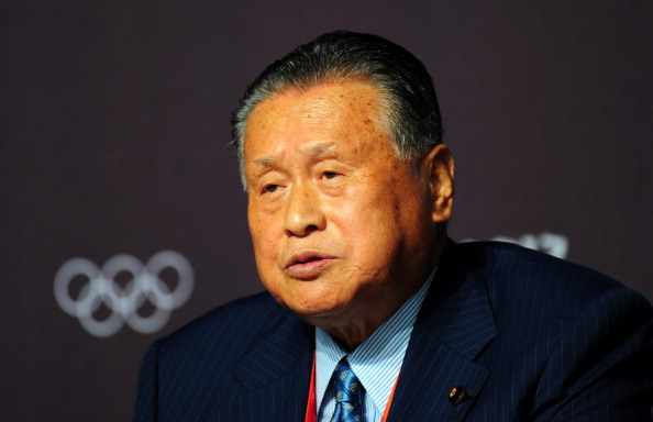Yoshirō Mori had been closely involved in Tokyo's campaign to host the 2020 Olympics and Paralympics, including representing them at London 2012 ©Getty Images