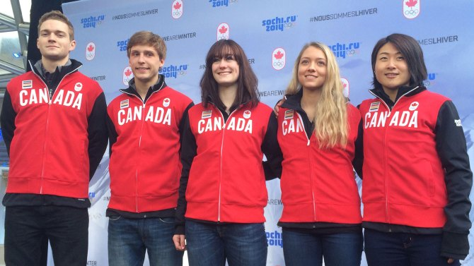 Seven ski jumpers will represent Canada in Sochi, including three women ©Canadian Olympic Team