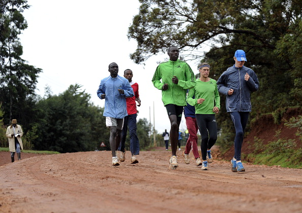 Iten plays host to a huge number of elite international endurance athletes due to its high altitude and top class rehabilitation facilities ©AFP/Getty Images