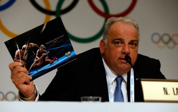 Nenad Lalovic became interim President of FILA in 2013 and helped guide the sport back into the Olympic programme ©Getty Images