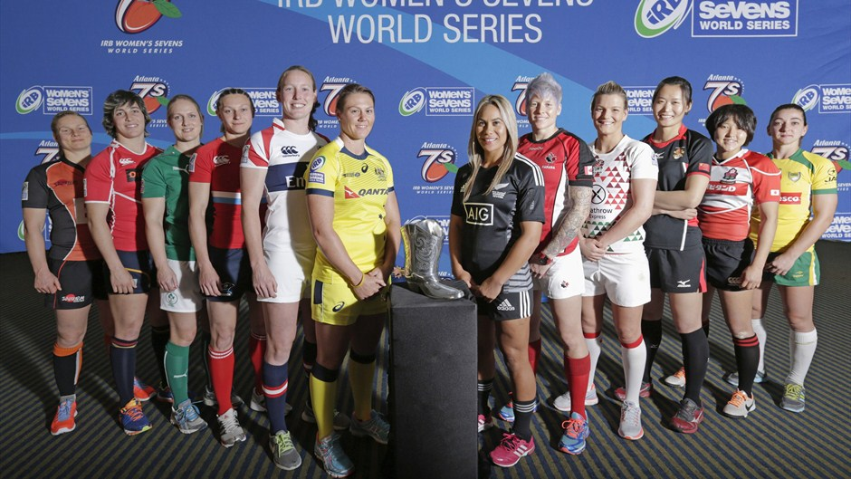 New Zealand, Canada and Russia boast 100 per cent records after day one of action in the IRB Women's Sevens World Series in Atlanta ©IRB