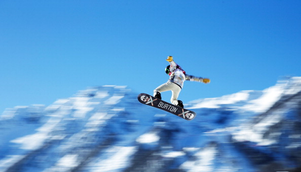 After several days of training here, Shaun White has withdrawn from the slopestyle competition to focus on the halfpipe ©Getty Images