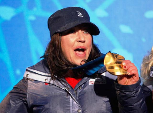 Alana Nicholls will be hoping to celebrate another Paralympic gold medal at Sochi 2014 next month ©Getty Images