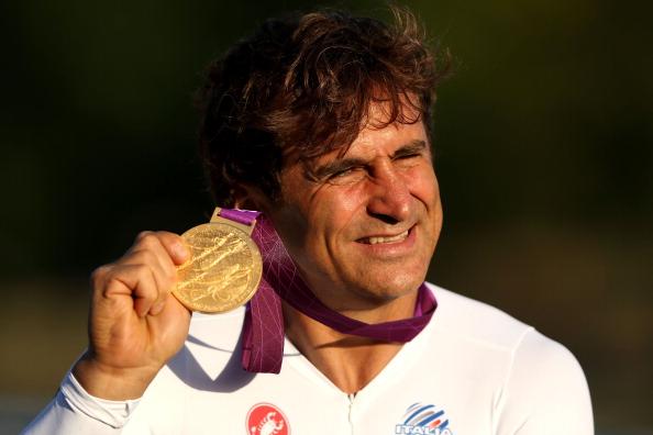 Alex Zanardi gold