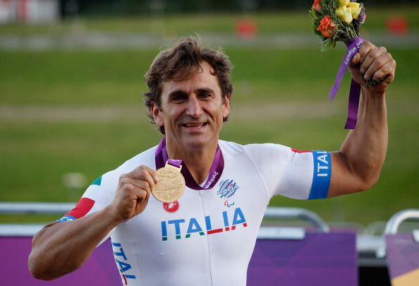 Alex Zanardi second gold