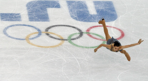 An outstanding free skate is enough to propel Adelina Sotnikova to an unlikely gold medal for Russia ©AFP/Getty Images