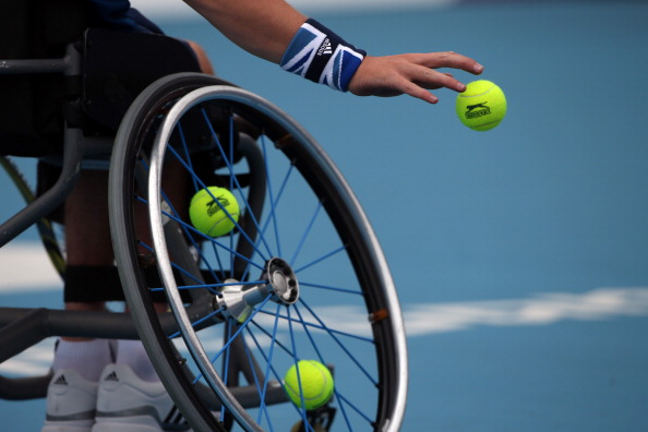 Athletes make their way to Bolton next week to compete in the USN Bolton Arena Indoor Wheelchair Tennis Tournament ©Getty Images
