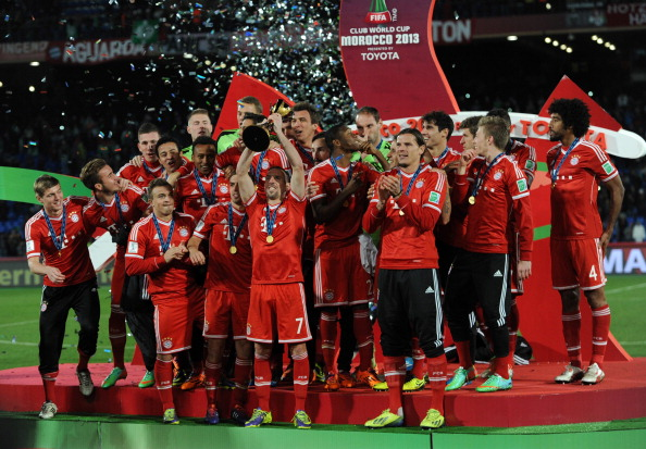 Bayern Munich's Champions League victory last year was a photographic highlight for Hassenstein ©Getty Images