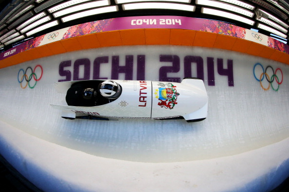 Bobsleigh practice Sochi 2014 February 13 2014 Getty Images