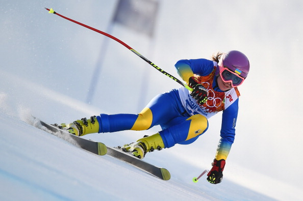 Bogdana Matsotska will remain in Sochi but has withdrawn from her remaining slalom event on political grounds ©Getty Images