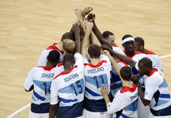 Britain's basketball teams have put in impressive performances considering they have only been properly funded since 2009 ©AFP/Getty Images