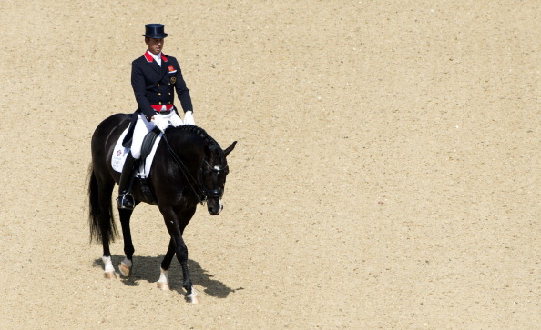Carl Hester will be seeking a third successive national title in the LeMieux sponsored event in 2014 ©AFP/Getty Images