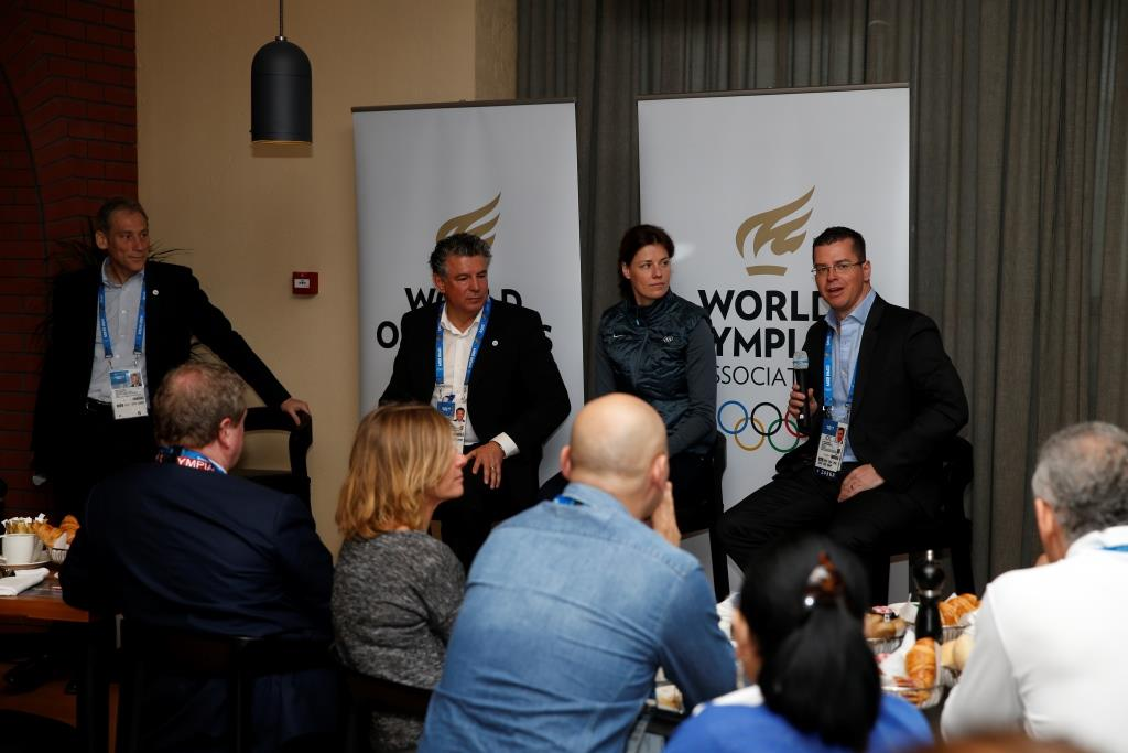 Claudia Bokel was speaking at a WOA breakfast event this morning ©Getty Images