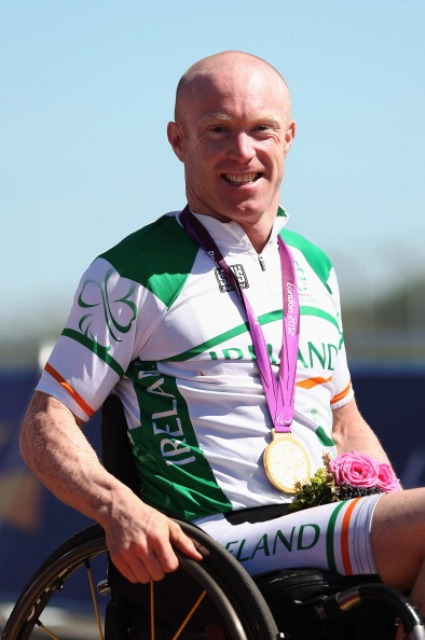 Cyclist Mark Rohan won two gold medals on the road at London 2012 ©Getty Images