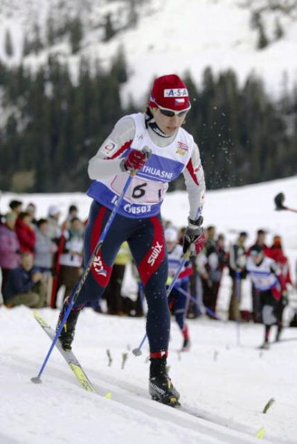 Czech Helena Erbenova will not be in Cogne to defend her Triathlon Winter World Championship title ©Getty Images