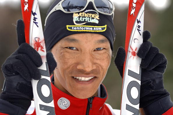Dachhiri Sherpa is going to Sochi not to win but to inspire the young people of Nepal ©AFP/Getty Images