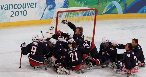 Eight members of the gold-medal winning ice sledge hockey team from Vancouver 2010 will return to the team for 2014 ©Getty Images