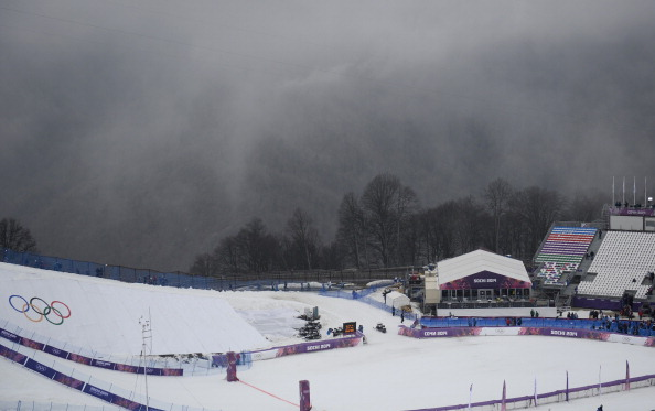 Fog has caused the postponement of events in snowboard cross and biathlon at Sochi 2014 ©AFP/Getty Images