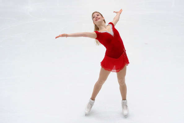 Gracie Gold is to be promoted by NBC as the American face of the Sochi 2014 Olympics ©Getty Images