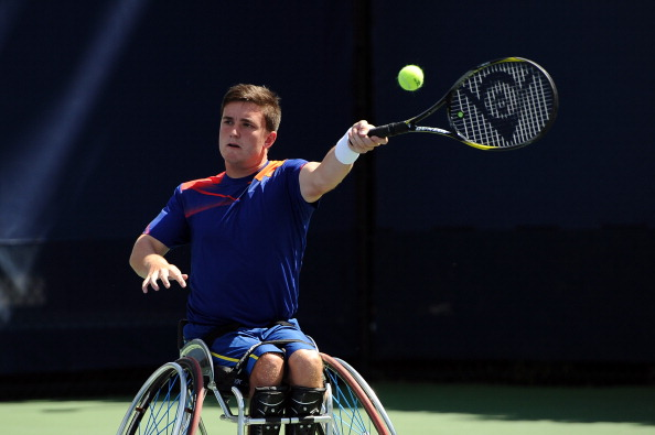 Great Britain's wheelchair tennis players have won five of the six titles on offer at the USN Bolton Arena Indoor Wheelchair Tennis Tournament ©Getty Images