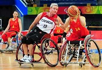 Hosts Canada will take on Germany and China in Pool B of this year's Women's Wheelchair Basketball World Championships ©AFP/Getty Images