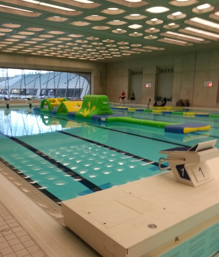 London 2012 aquatics centre to open to public this week for Open door swimming pool london
