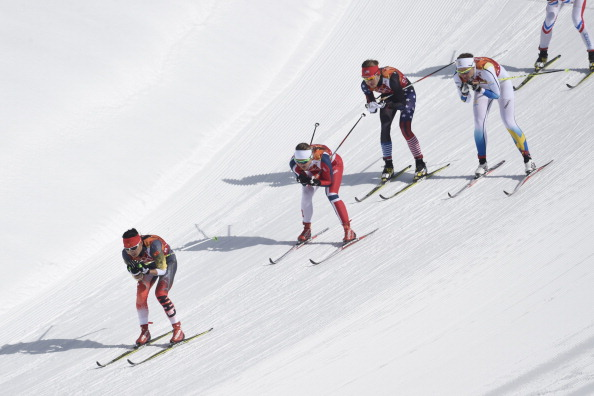 It is relay day in cross country skiing as conditions improve on the mountains ©Getty Images