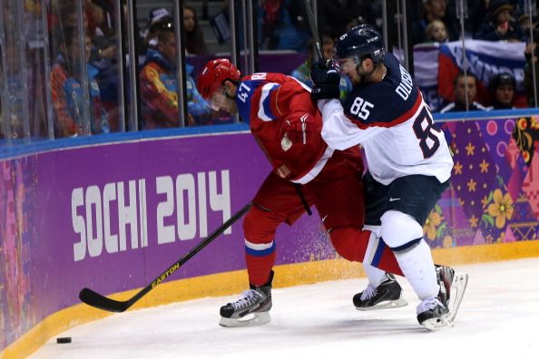 It is still all square between Russia and Slovakia ©Getty Images