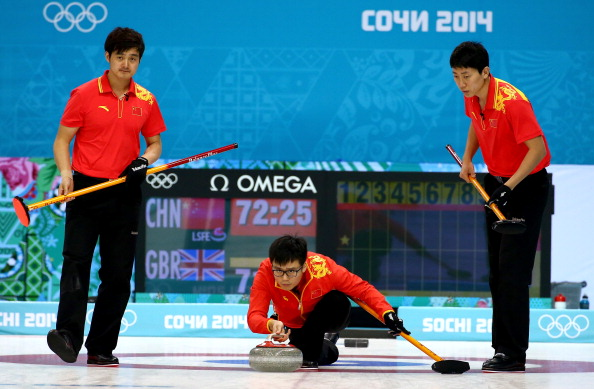 It was a superb performance by China to beat Great Britain and advance to the semi-finals ©Getty Images