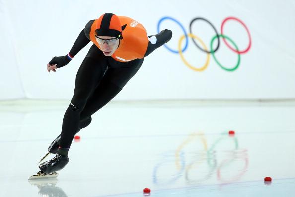 Jorrit Bergsma wins gold ©Getty Images