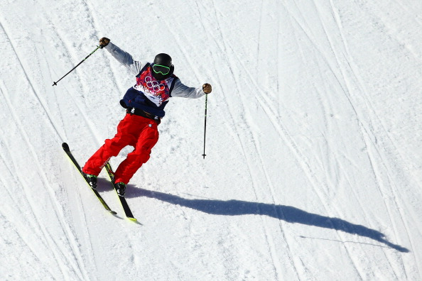 Joss Christensen on the way to gold in a US clean sweep ©Getty Images