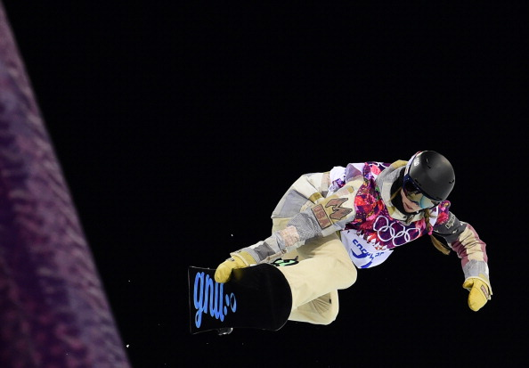 Kaitlin Farrington of the United States wins on the halfpipe ©Getty Images