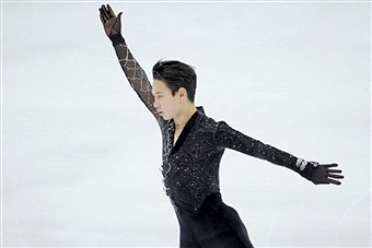 Kazakhstani figure skater Denis Ten could potentially earn $250,000 if he clinches Olympic gold in Sochi ©Getty Images