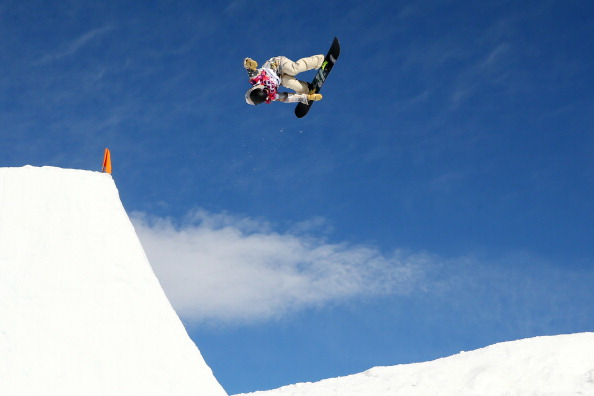 Sage Kotsenburg won the first gold medal of Sochi 2014 in the slopestyle snowboard ©Getty Images