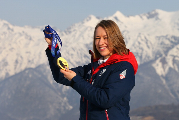 Lizzy Yarnold's skeleton gold was the highlight of Britain's record-equalling Winter Olympics ©Getty Images