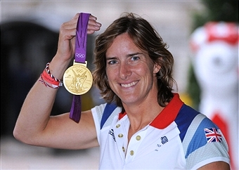 London 2012 champion Katherine Grainger is set to run in the London Marathon for the International Inspiration charity ©Getty Images