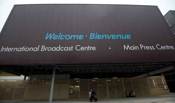 The £295 million ($492 million/€358 million) Olympics media centre is set to be transformed ©AFP/Getty Images