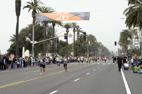Los Angeles has been chosen to host the 2016 US Olympic marathon trials ©Getty Images