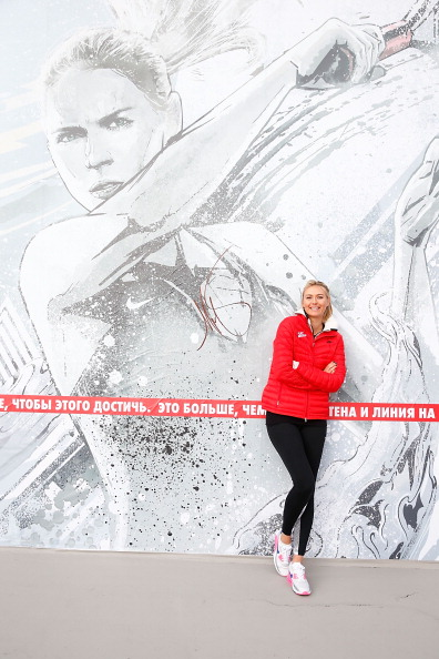 Maria Sharapova has returned home to Sochi to enjoy the city hosting the 2014 Winter Olympics and Paralympics ©Getty Images