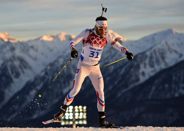Martin Fourcade won his second biathlon gold of the Games on day six ©Getty Images