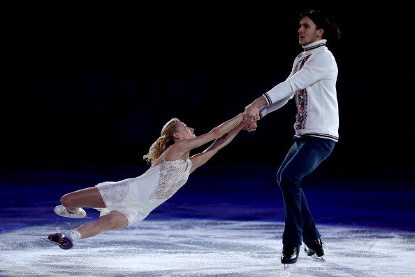 Maxim Trankov will carry the Russian flag after two gold medals at Sochi 2014 ©Getty Images