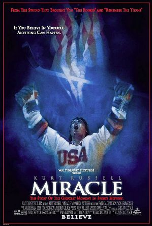 It is probably safe to assume that Miracle, the Kurt Russell film about how the United States won the Olympic ice hockey gold medal at Lake Placid at 1980, is not one of Vladislav Tretiak's favourite movies ©Walt Disney Pictures
