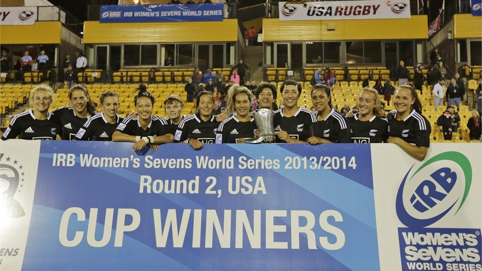 New Zealand have won the second round of the IRB Women's Sevens World Series in Atlanta ©IRB