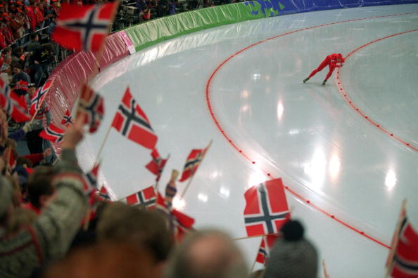 Norway, led by Johann Olav Koss, secured 10 gold medals in all at Lillehammer 1994 ©Getty Images