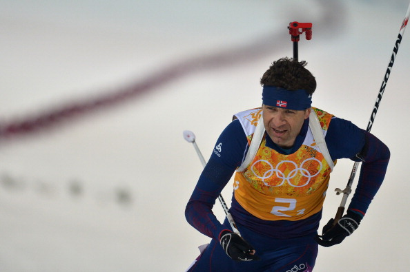 Ole Einar Bjoerndalen won two more titles at Sochi 2014 ©Getty Images